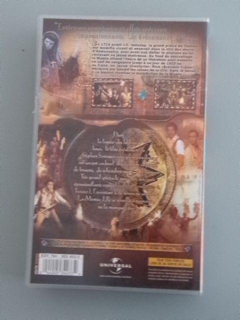 Cassette Vidéo VHS - Film : La Momie - Comme neuve