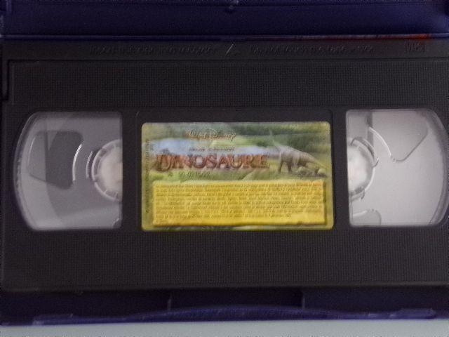 Cassette vidéo VHS - Walt Disney n°58 Grand Classique : Dinosaure comme neuf