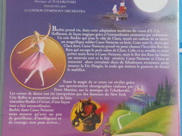 VHS Cassette vidéo Barbie dans Casse-Noisette son premier film !