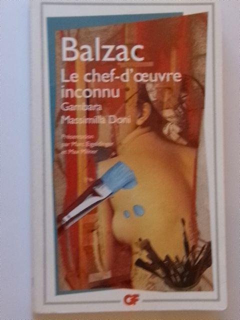 Balzac - Le Chef-d'oeuvre inconnu - Gambara - Massimilla Doni