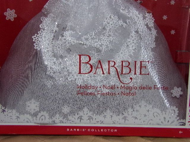 Barbie Collector Holiday Noël 25ème Anniversaire NRFB