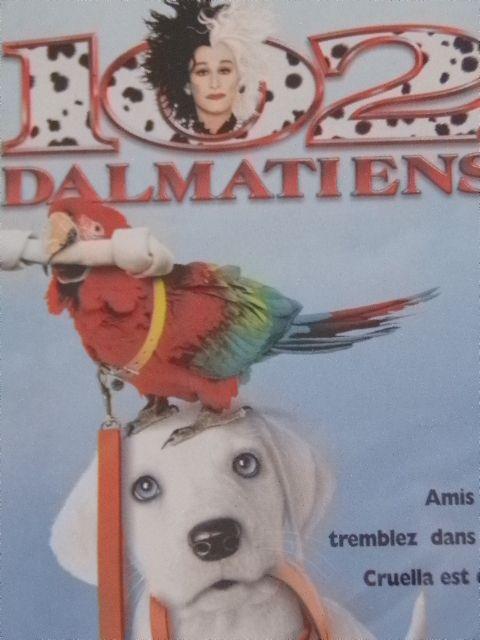 Cassette Vidéo - VHS - Walt Disney : Les 102 Dalmatiens - avec Glenn Close et Gérard Depardieu