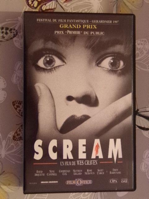 Cassette Vidéo - VHS - SCREAM  - un film de Wes Craven