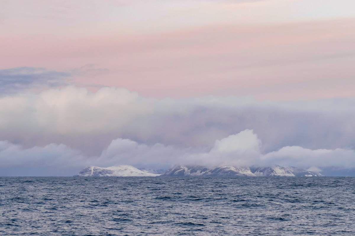 Dieppe - Tromsø : de la mer, des nuages et des couleurs