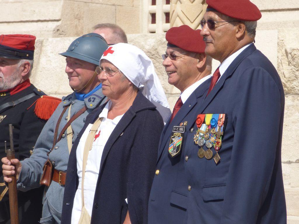 QUELQUES PHOTOS DE LA CEREMONIE AU MEMORIALE DE VERDUN, LE 9 ET 10 JUIN 2017