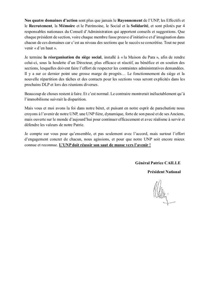 LETTRES DU GENERAL CAILLE