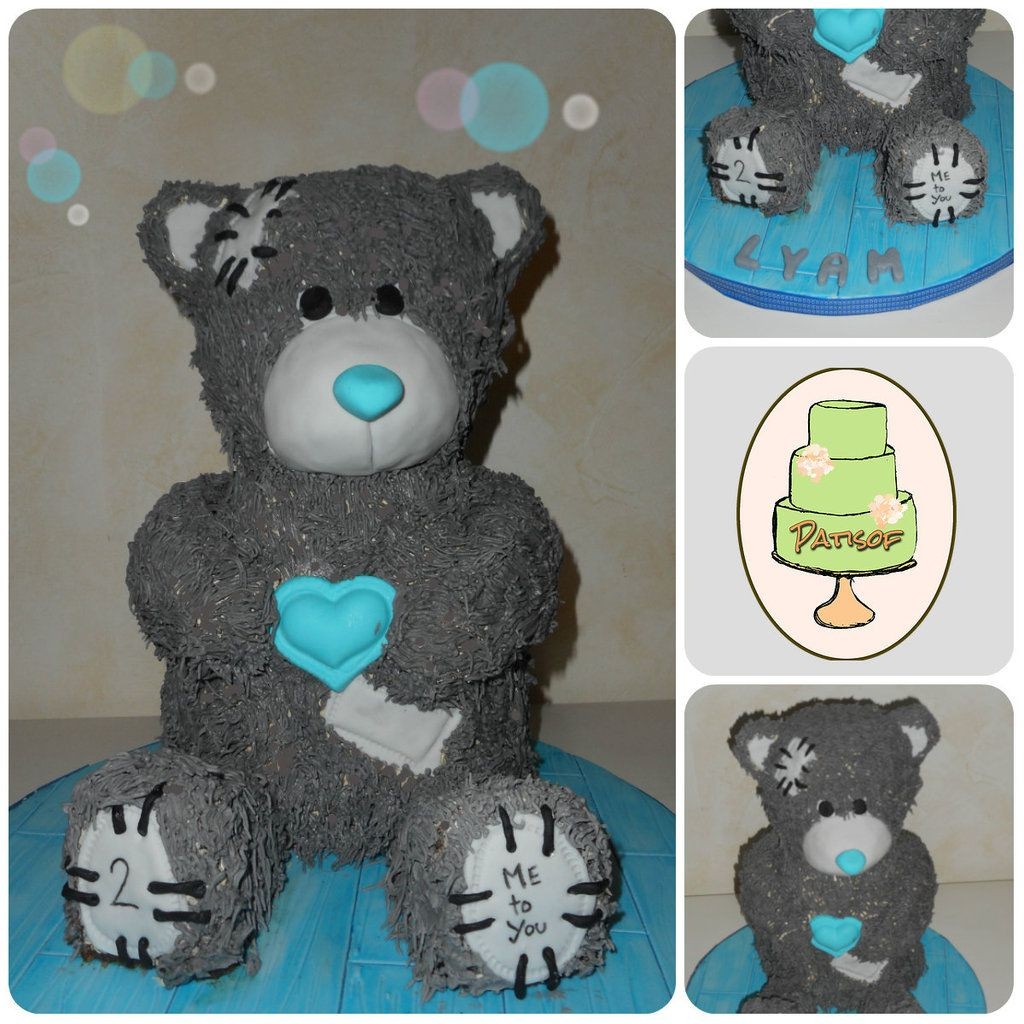 """Gâteau """"Me to You"""" (Me to You bear cake) by Patisof"""