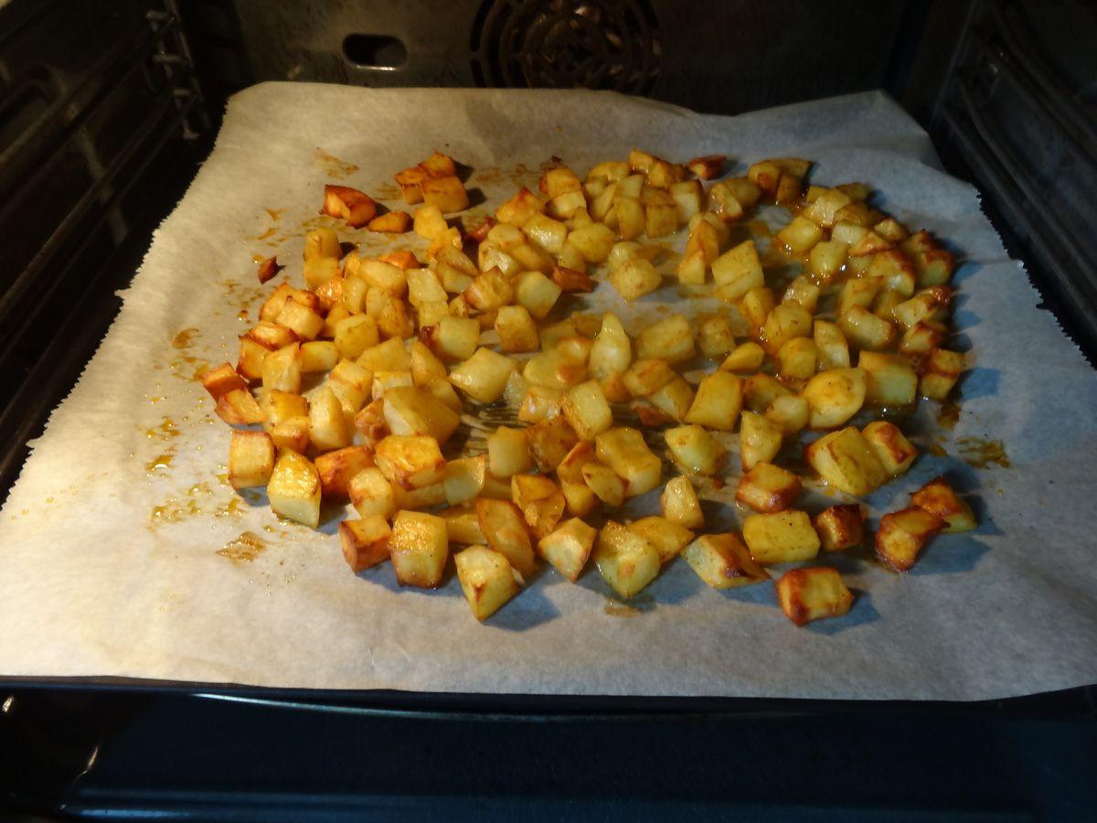 Des frites au four