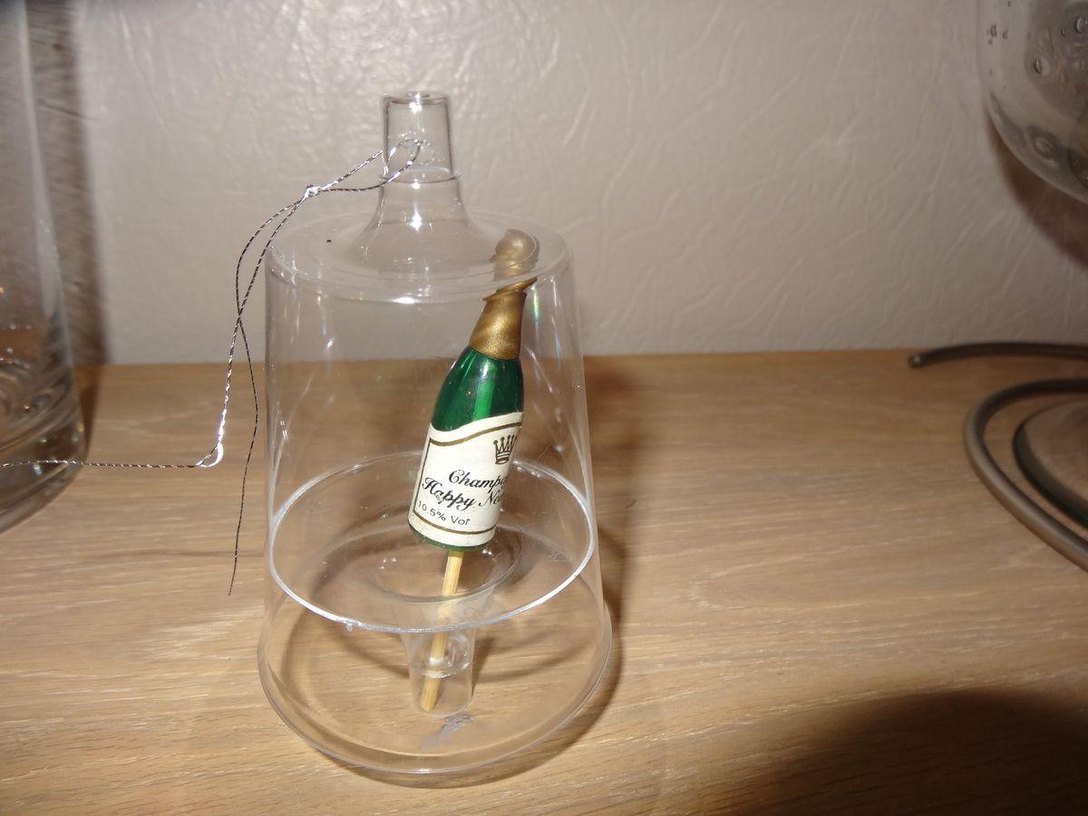 &quot&#x3B;Boules&quot&#x3B; avec verres cristal
