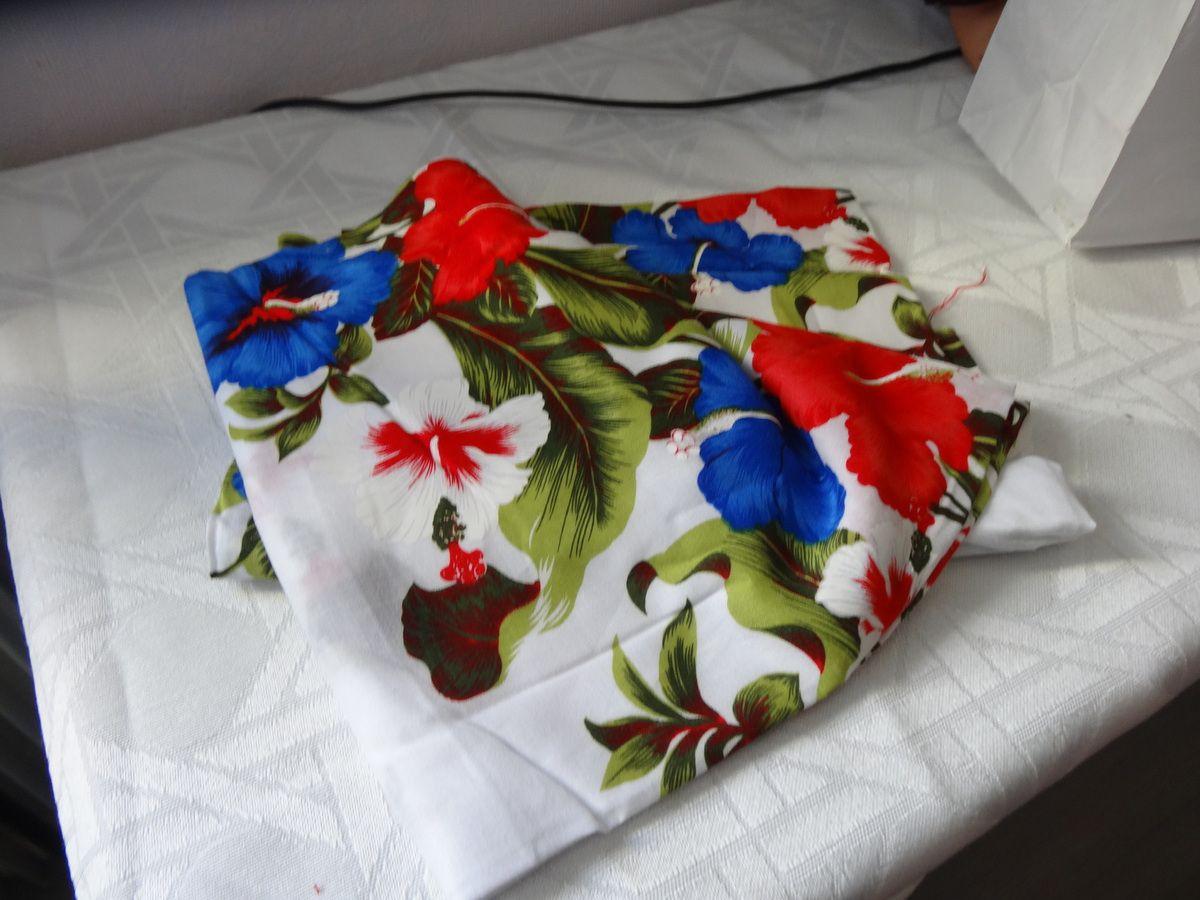 Tissu de la Réunion