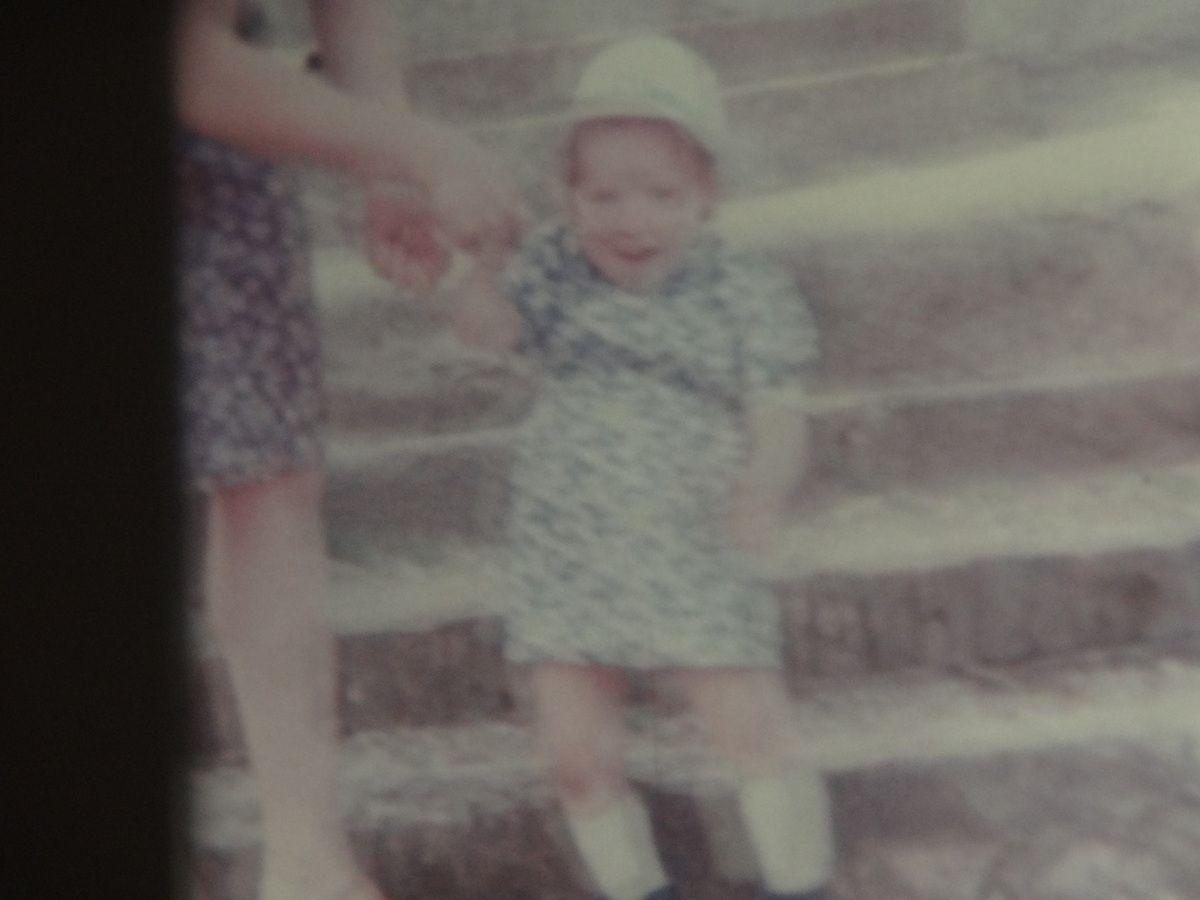 C'était en 1977, à gauche notre fille !