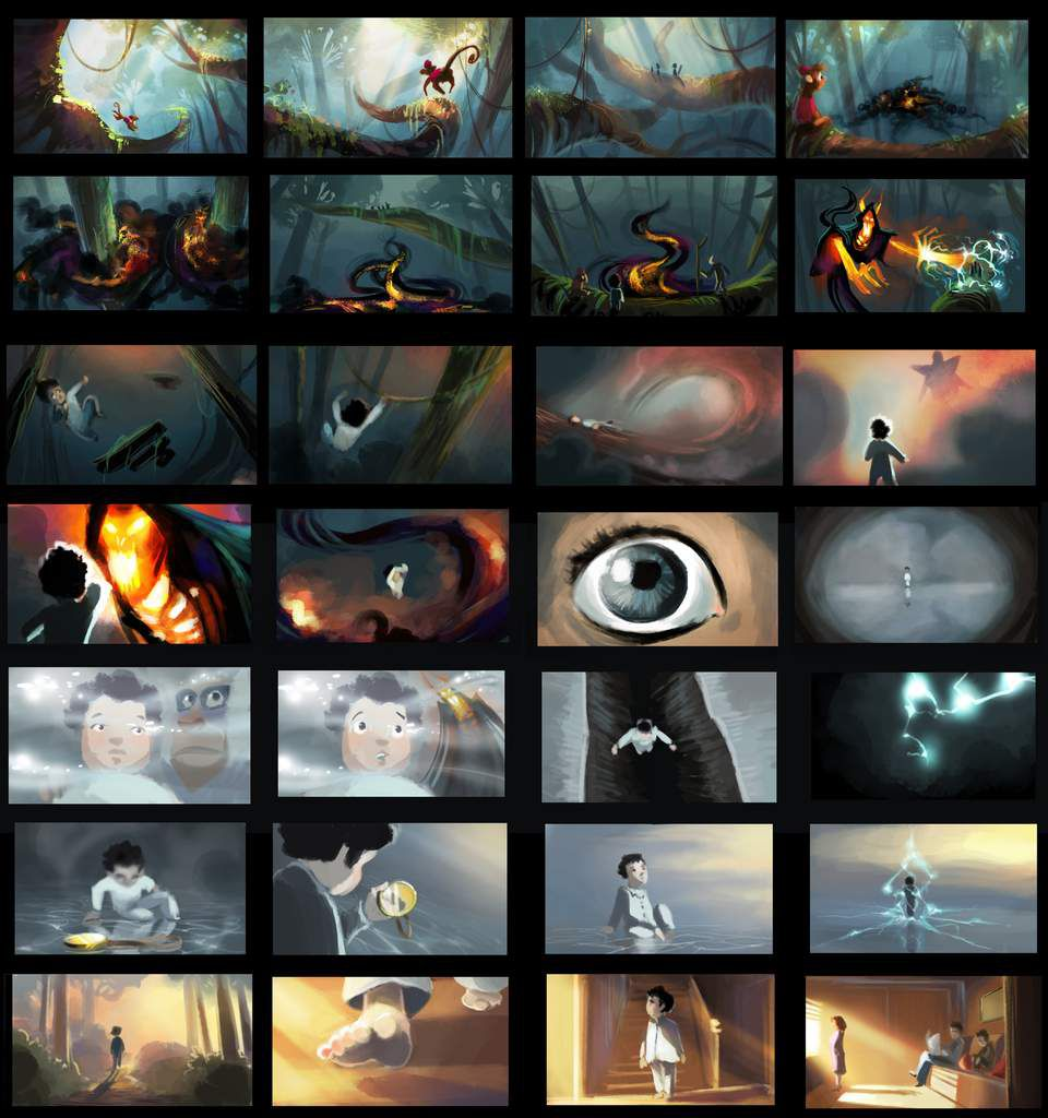 244. color board &quot&#x3B;life animated&quot&#x3B;