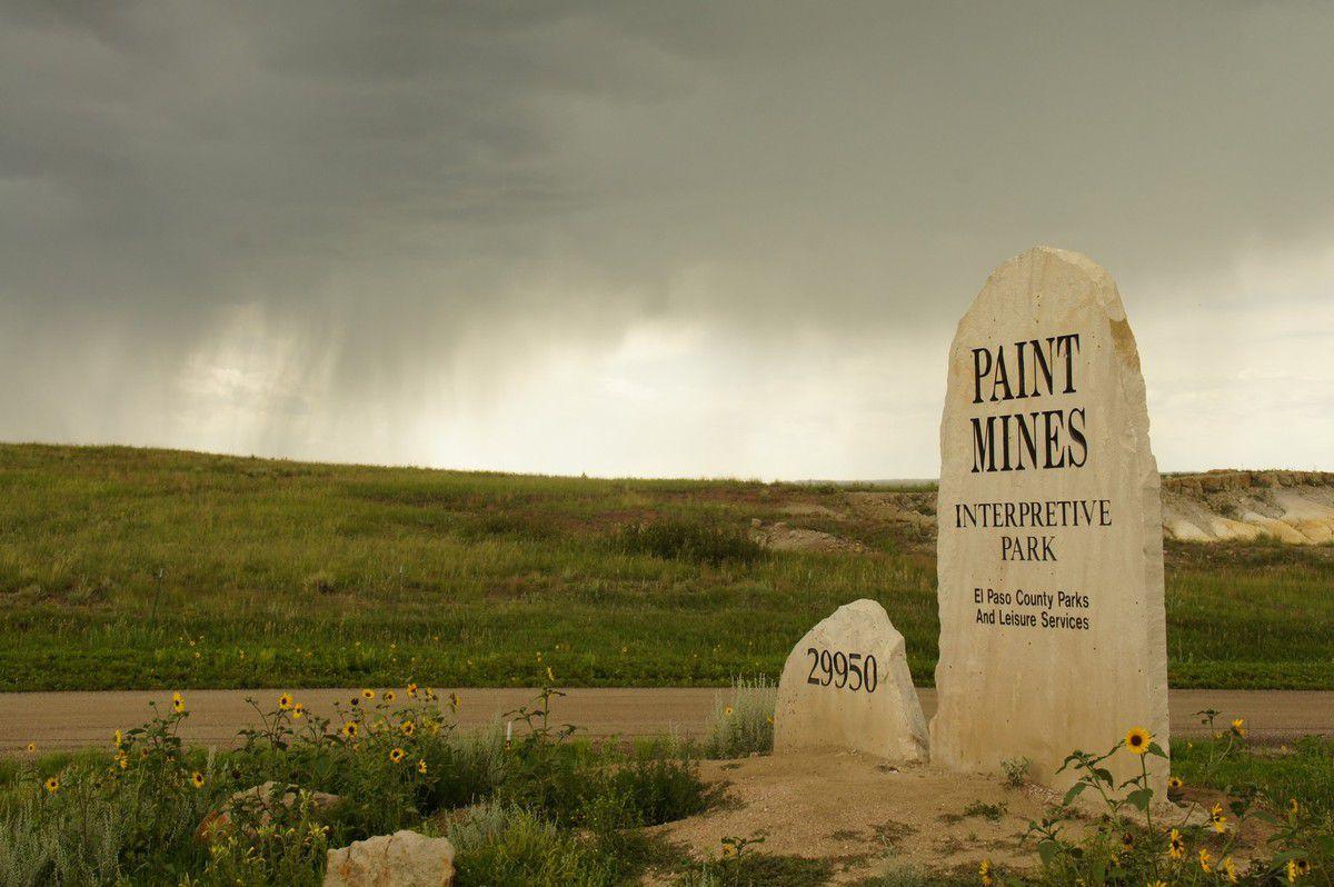 Paint mines