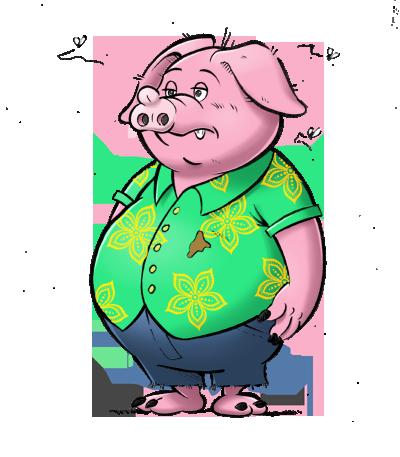 Un cochon premier choix...
