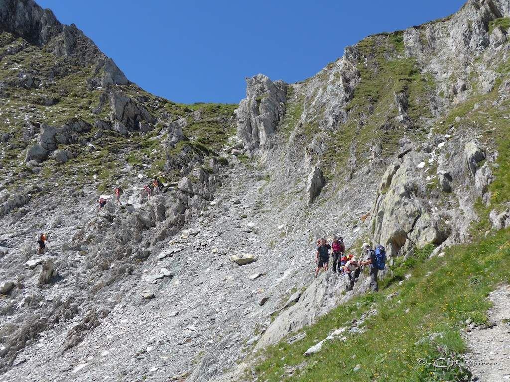 Tour des glaciers de la Vanoise.