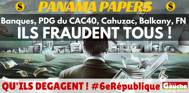 PANAMA PAPERS Les masques tombent !