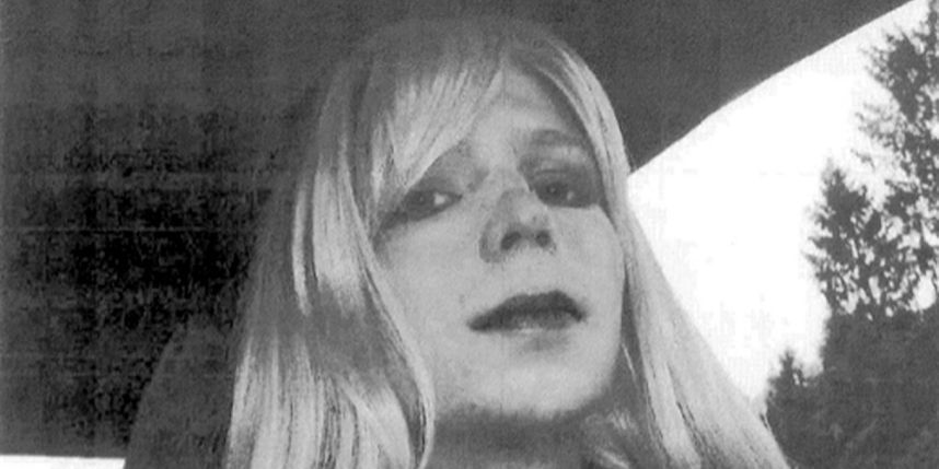 Chelsea Manning aurait tenté de mettre fin à ses jours à cause d'une dépression, nourrie par son isolement et l'absence de traitement hormonal.  Photo: HO / US ARMY / AFP