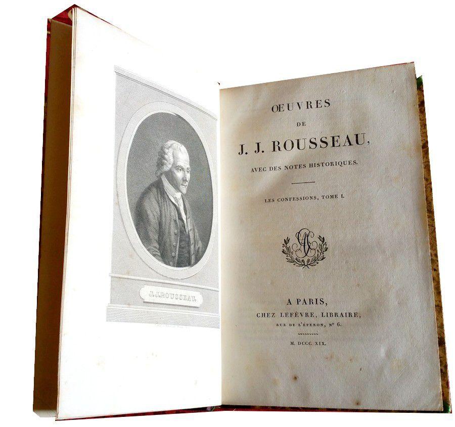 Rousseau (Jean-Jacques) (1717-1778).
