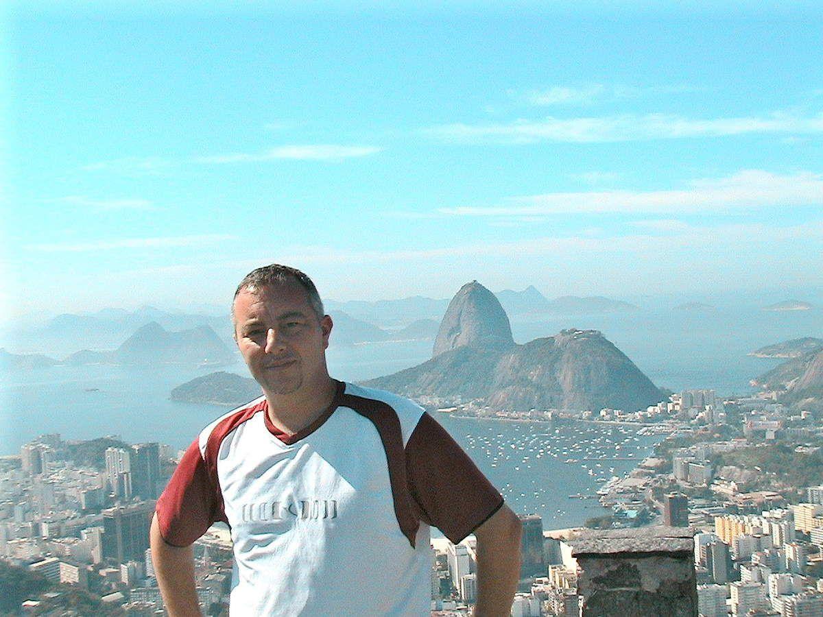 RIO DE JANEIRO : le Pain de Sucre et le Cristo Redentor