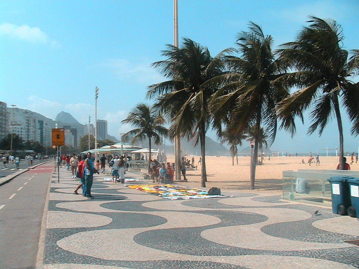 RIO DE JANEIRO : Copacabana