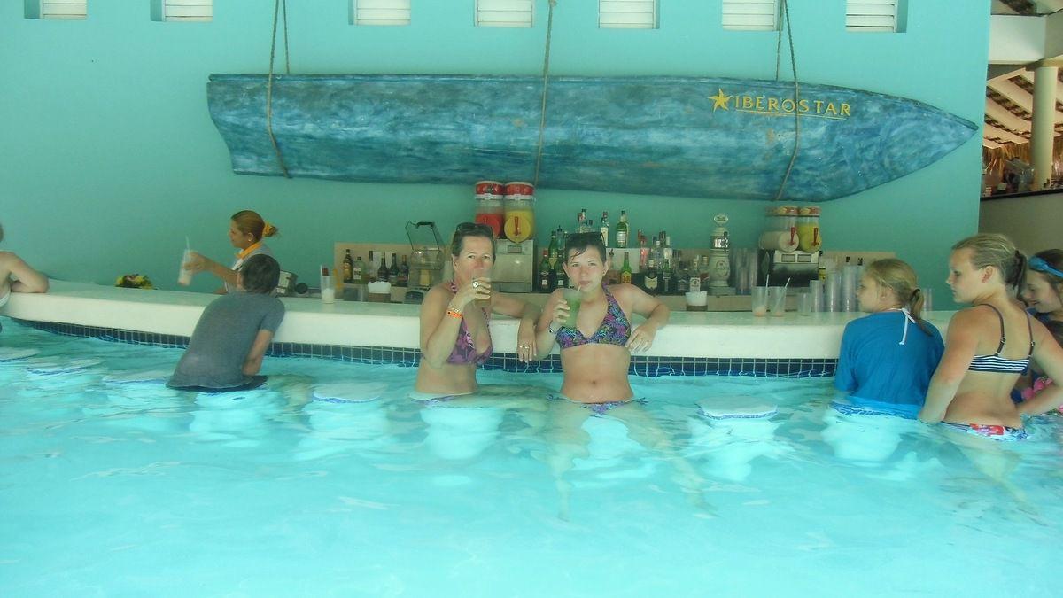 PUNTA CANA (Les piscines de l'Hôtel Iberostar Bavaro)