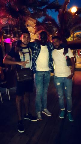 Taieb , Ibrahim et Rehan