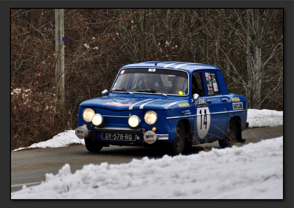 Guillaume CHANCEL (FRA) François-Paul FORGEAUX (FRA) - Renault 8 Gordini de 1966