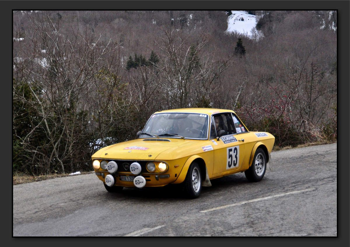 Tifaney PERLINO (MCO) Harriet ROSS (GBR) - Lancia Fulvia 1600 HF de 1972