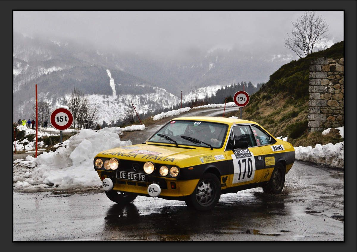 Jacky MOLET (FRA) Laurent BEGUIN (FRA) - Lancia Beta Coupé de 1979