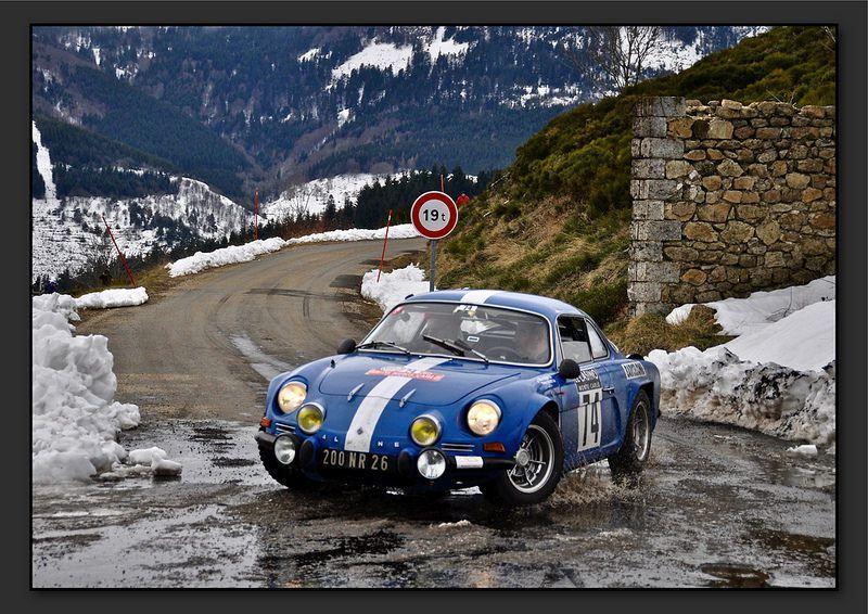 Gilles COURT et Pierre COURT - Renault Alpine A110 1600 de 1969 - Team La Charrette