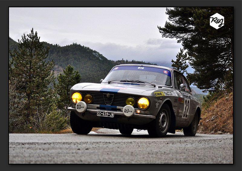 Alexis BIZZARILLI et Denis GOUDOU - Alfa Romeo 2000 GTV de 1972 - Gascogne Historic Cars