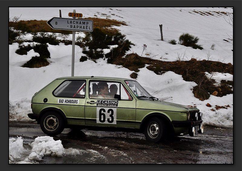 Jules SAPET et Paul SAPET - Volkswagen Golf GTI de 1978 - Chardonnet Compétition - Indy Racing