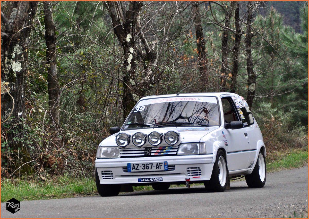 39 - Frédéric REIZ - Peugeot 205 Rallye (1990)