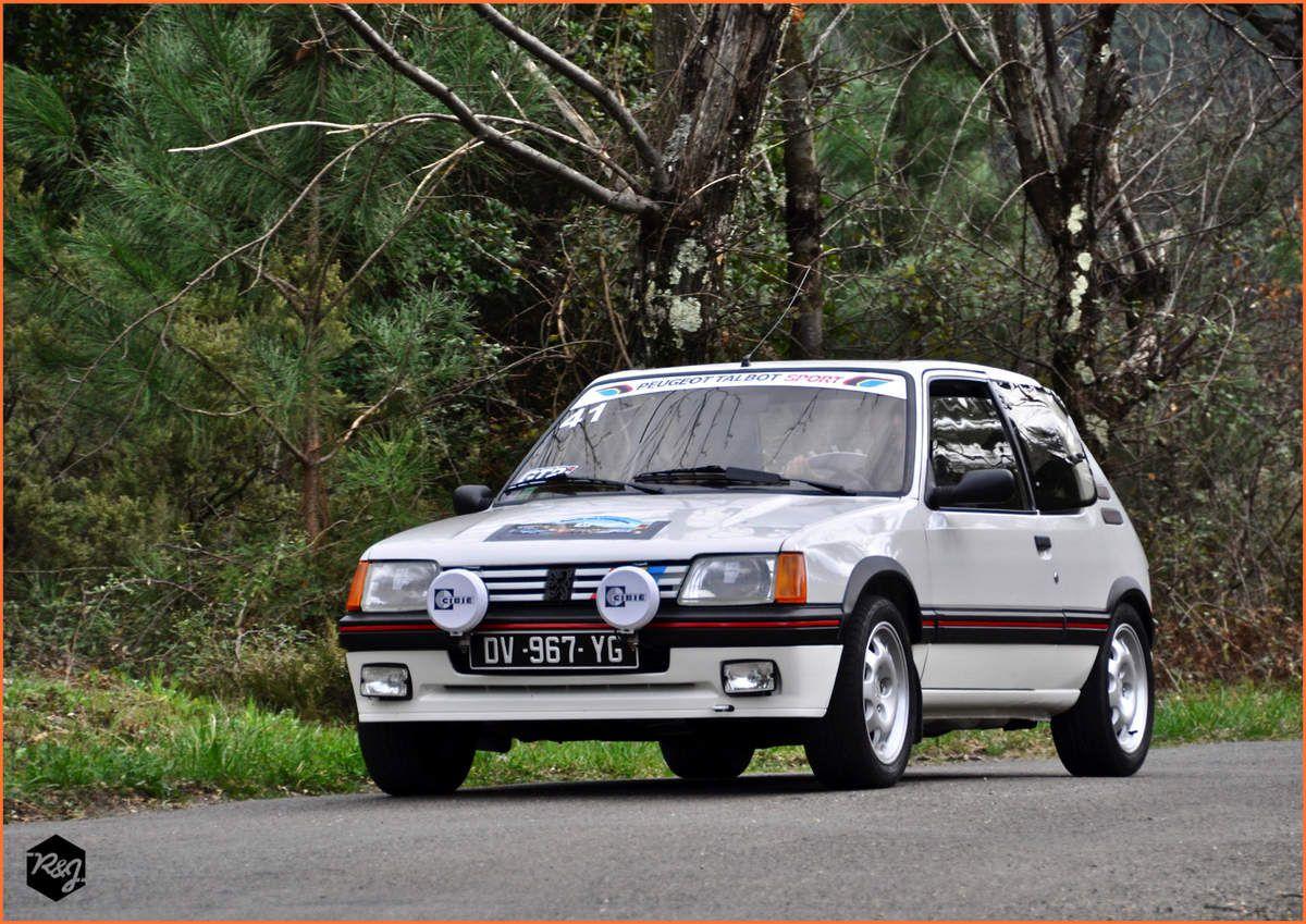 41 - Antonio MASTROLORENZO - Peugeot 205 GTI (1987)