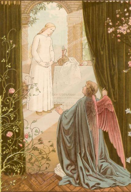 Die Verkündigung an Maria von Viktor Paul Mohn