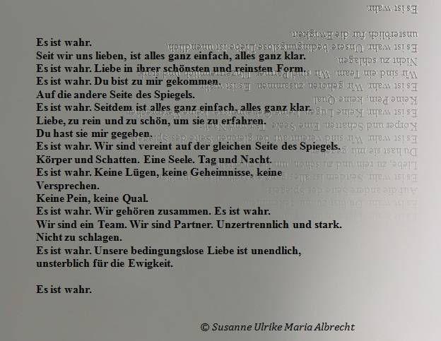 Text von Susanne Ulrike Maria Albrecht