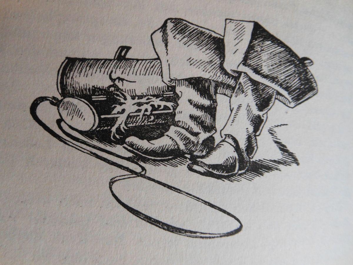 Zeichnung von Herta Pain