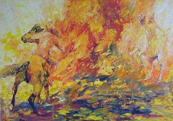 Eduard Mörike [Eduard Friedrich Mörike] Der Feuerreiter
