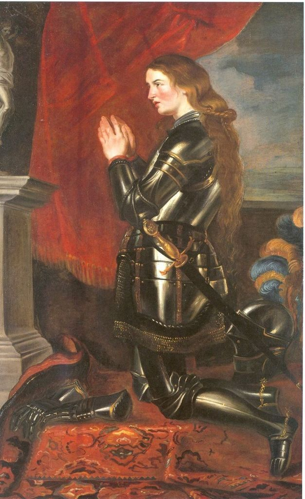 Jeanne d' Arc von Peter Paul Rubens