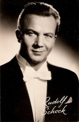 Rudolf Schock (Rudolf Johann Schock) 4. September 1915 - 13. November 1986, lyrischer Tenor