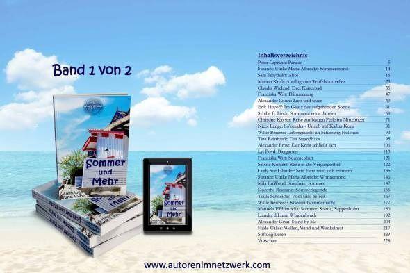 Autoren_Netzwerk Anthologie Sommer und Mehr