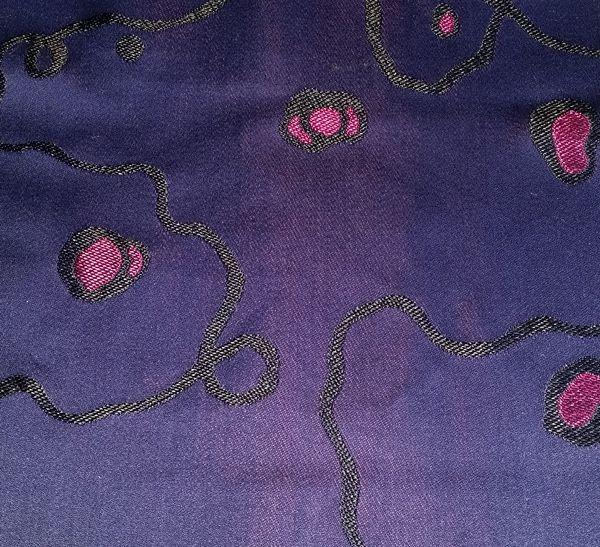 Satin Faconné Ruhlmann de chez Prelle existe en quatre couleurs