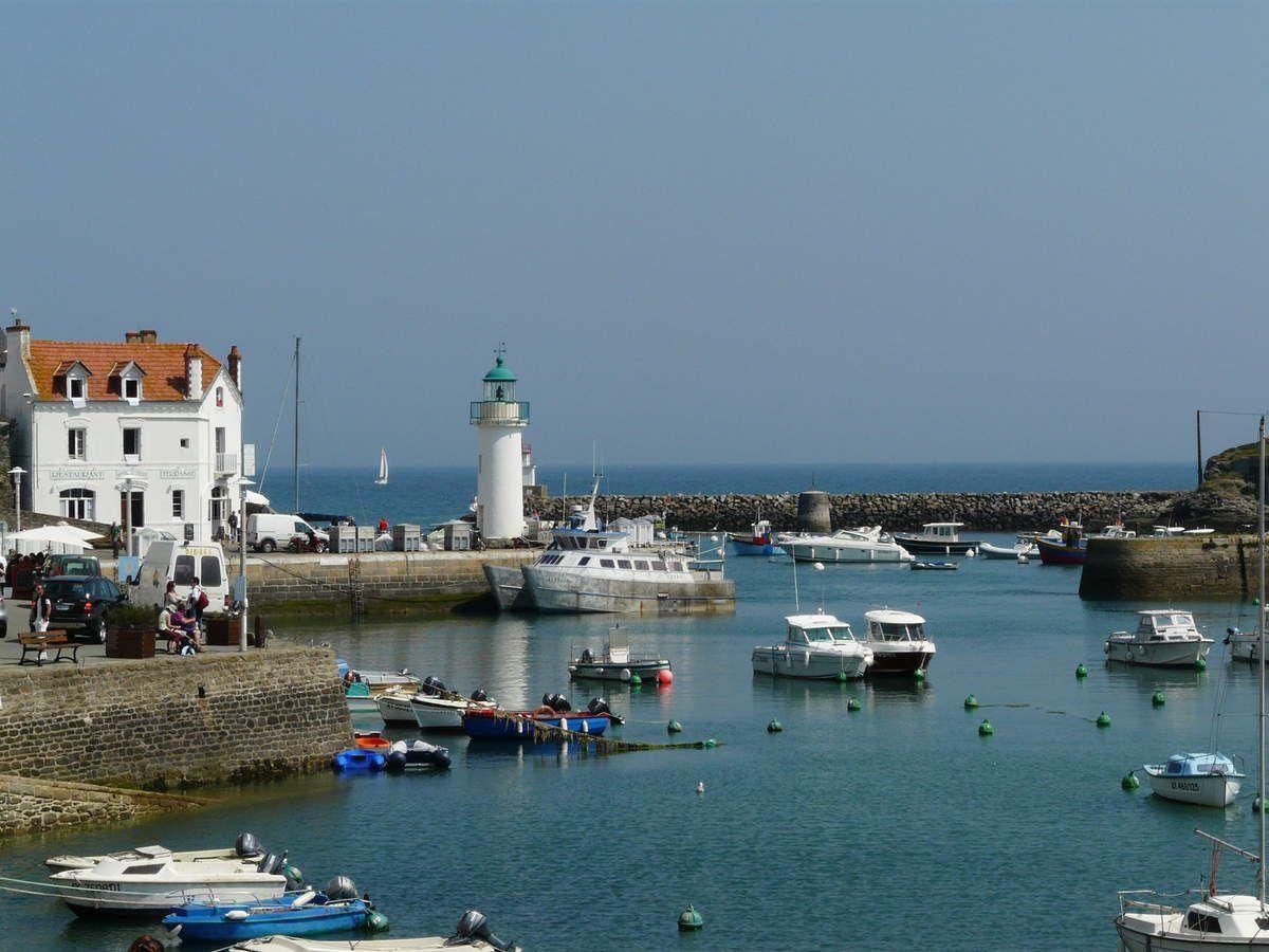 Glace au lait ribot bretagne 2 belle ile en mer les for Port donnant belle ile