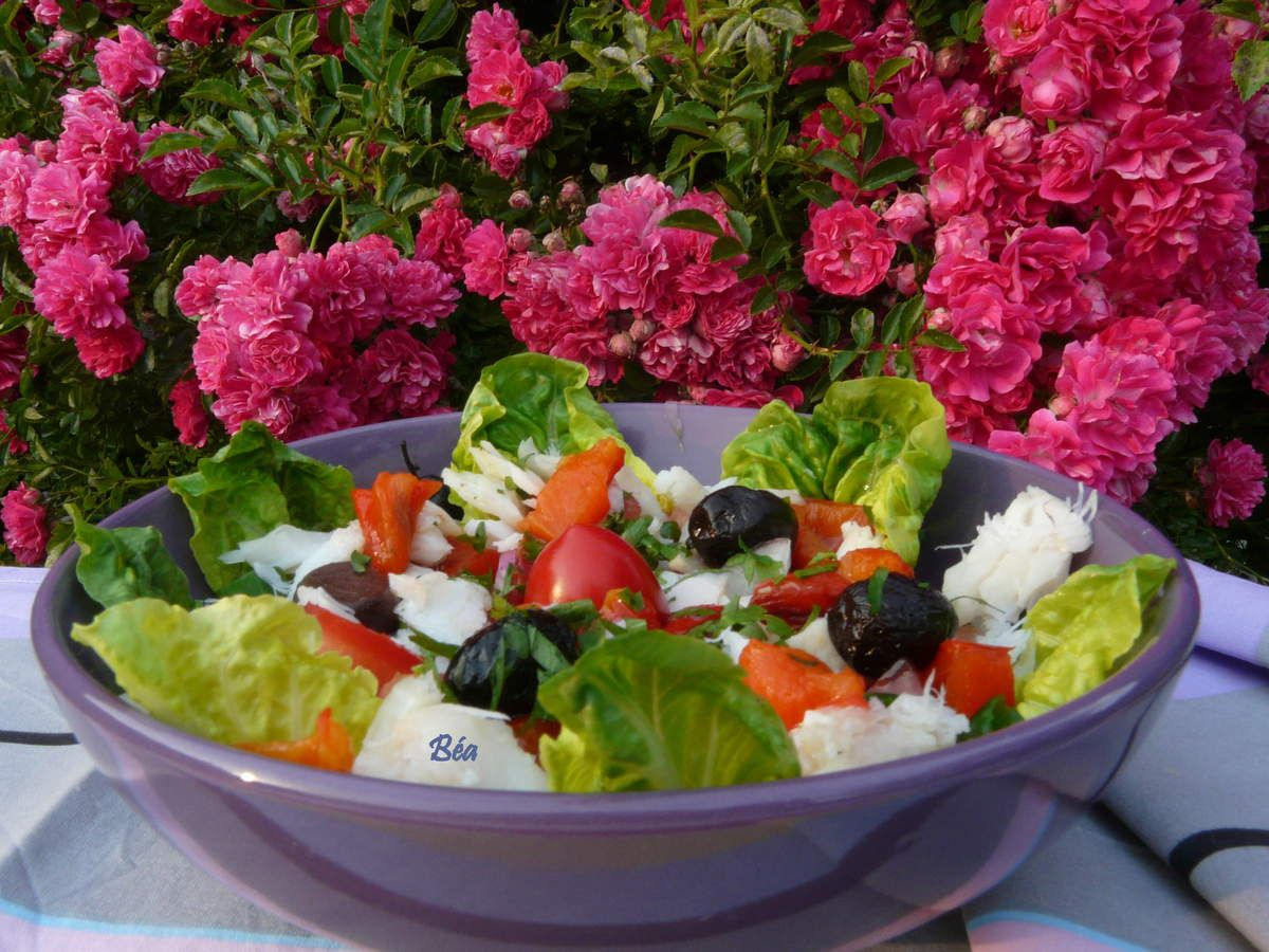 Salade de  morue comme au Portugal
