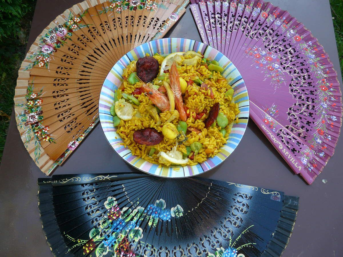 Salade de riz comme une paëlla - Andalousie (3) Ronda
