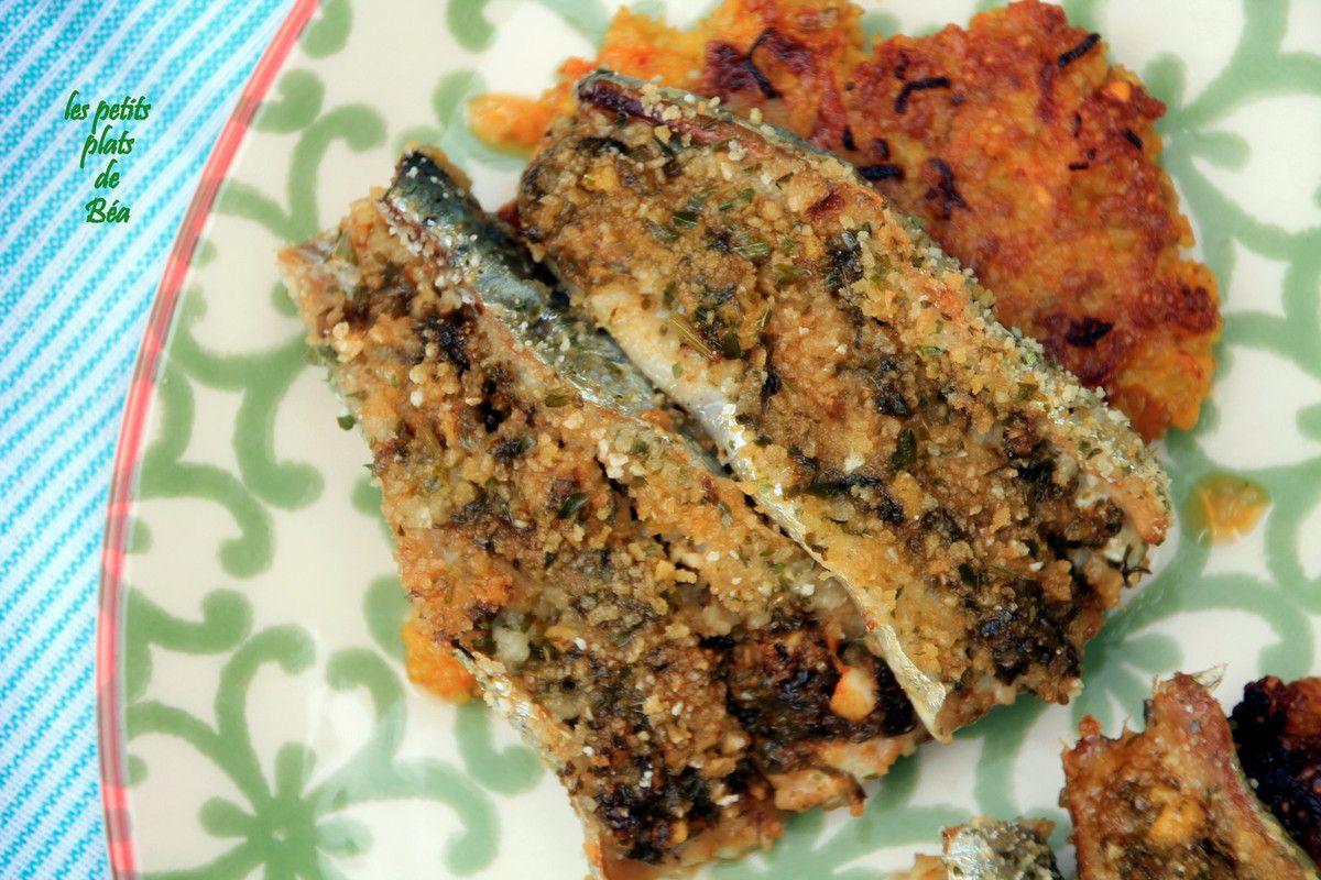 Filets de sardines à la chermoula, galettes de céréales - Maroc (3) Meknès