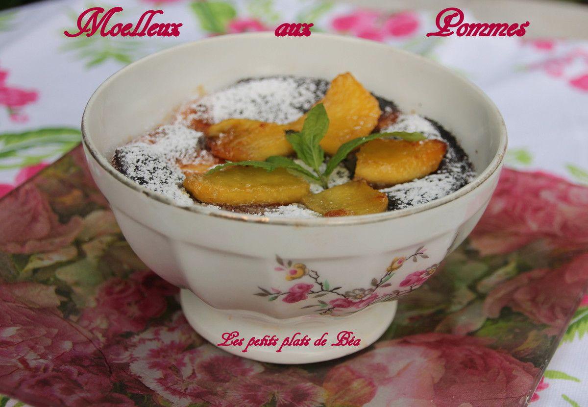 Bol de moelleux aux pommes