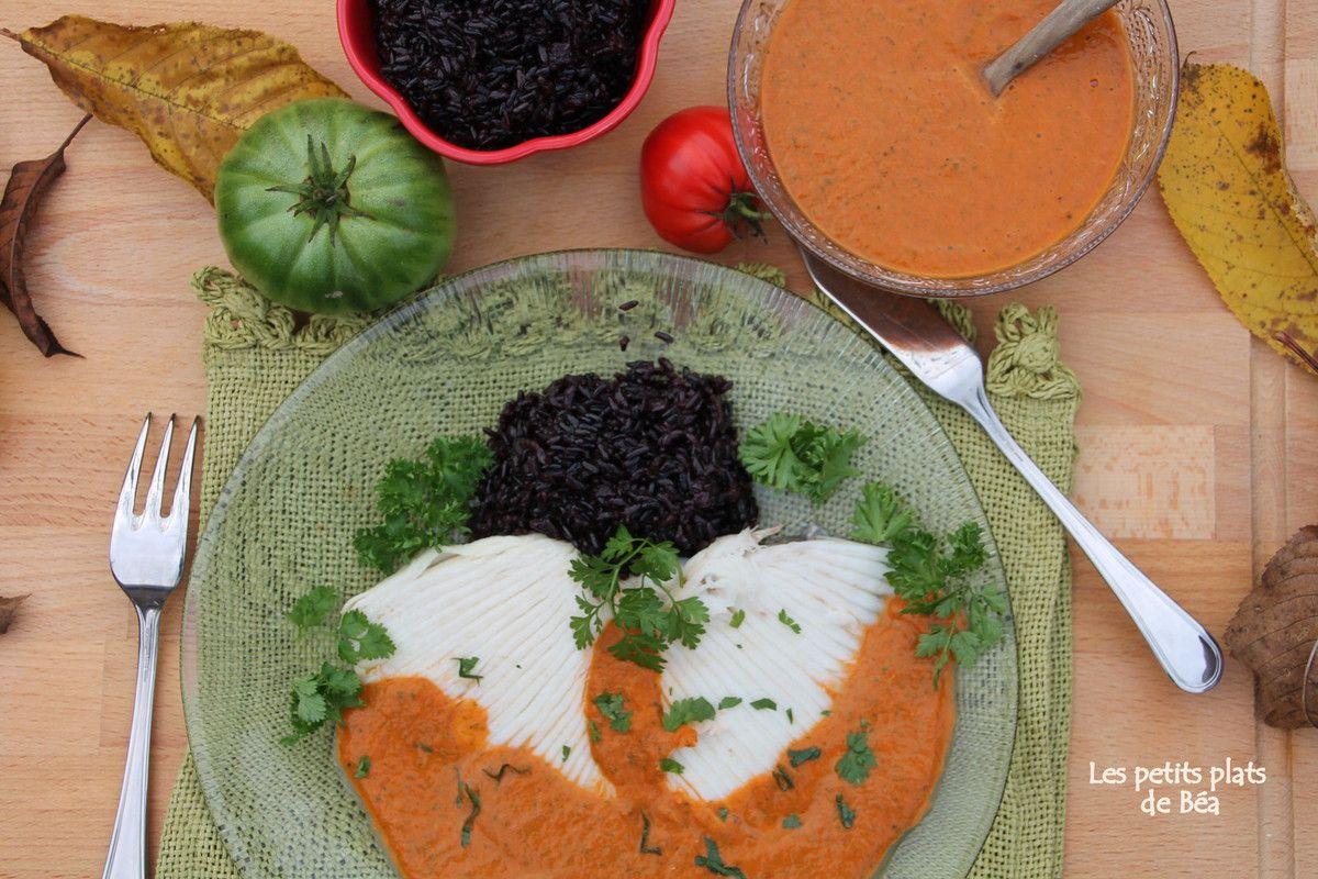 Aile de raie à la vinaigrette tiède de tomates - Bretagne (6) Fort Lalatte