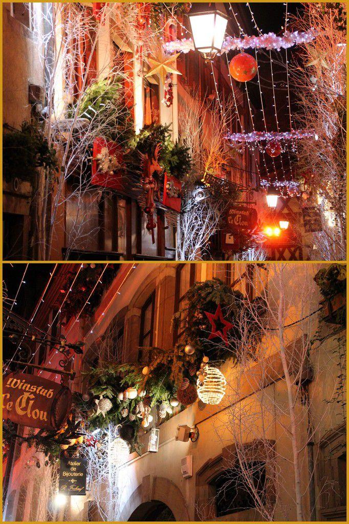 Couronne de Noël - Marché de Noël de Strasbourg