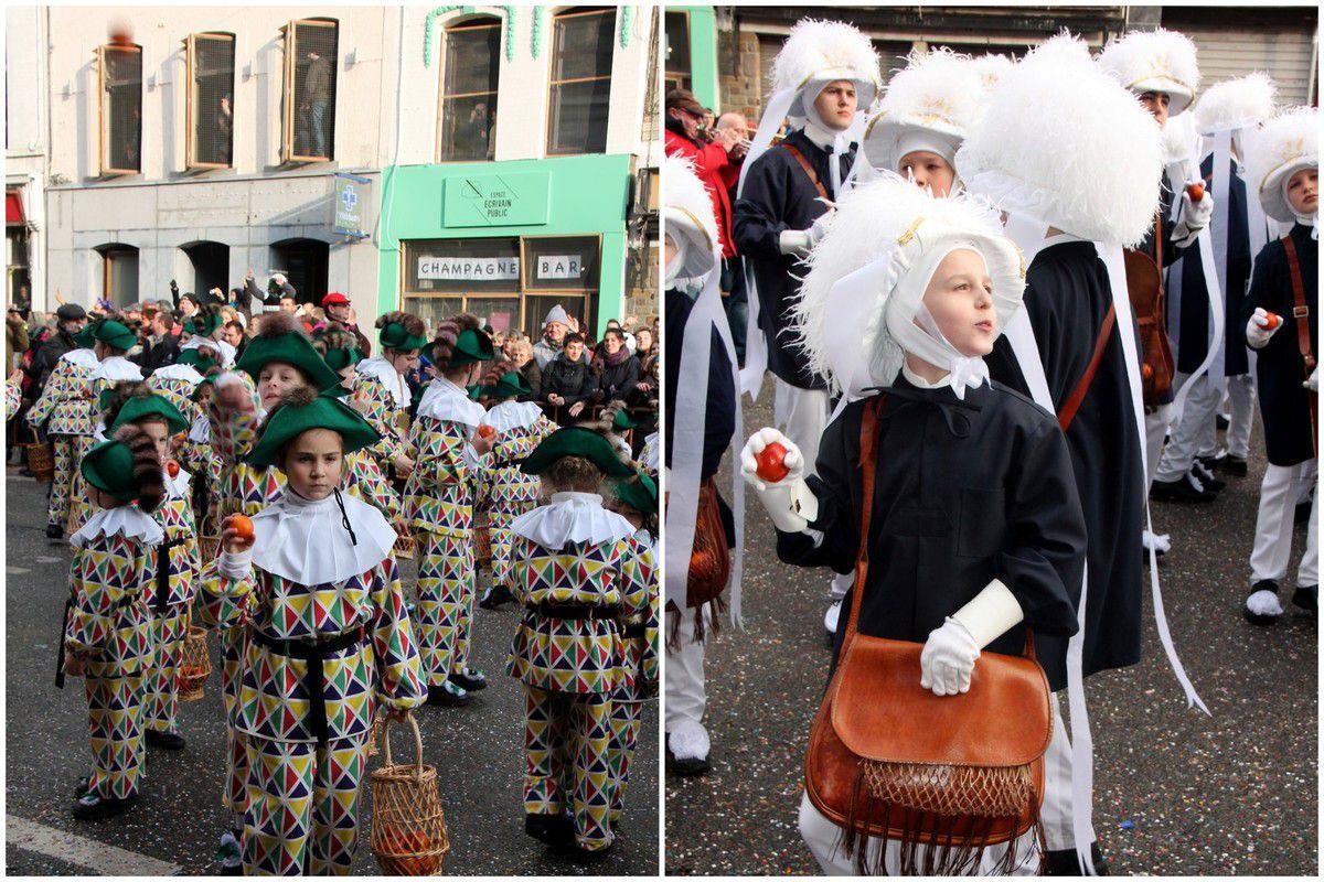 Bugnes - Belgique (3) le carnaval de Binche
